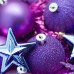 christmas ultra violet boże narodzenie