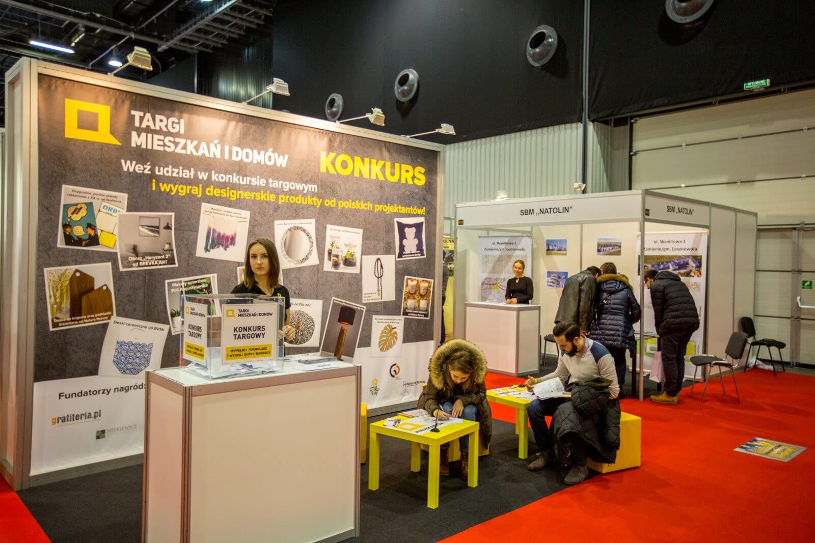 konkurs z nagrodami od wystawców na Targach Mieszkań i Domów w Warszawie luty 2018