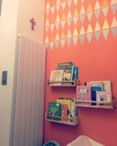 półki Ikea Bekvam na książki dla dzieci