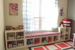 kallax w pokoju dzieciecym