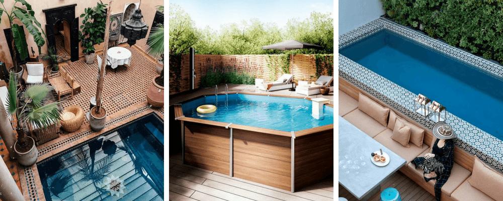 pomysł na basen w ogrodzie