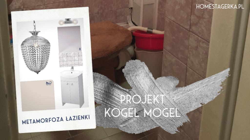 metamorfoza łazienki projekt kogel mogel