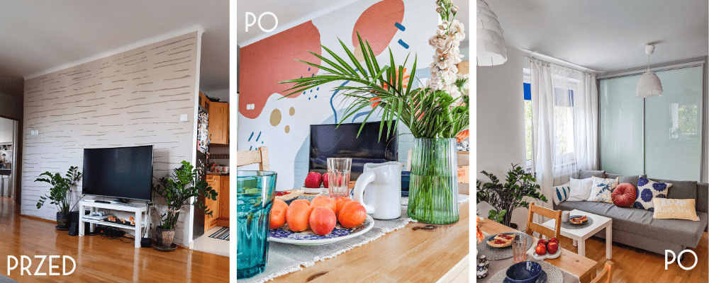 Szybka metamorfoza mieszkania Home staging na sprzedaż w Lubinie – projekt Tysiąclecia 13