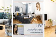 Przy Lampce o wnętrzach – Rozmowy Home stagerek – Joanna Popławska, Home for Me