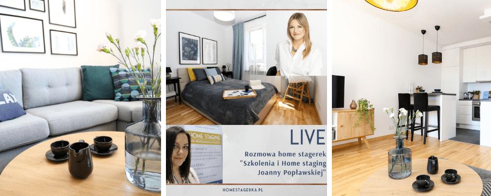 Przy Lampce o wnÄ™trzach – Rozmowy Home stagerek – Joanna PopÅ'awska, Home for Me